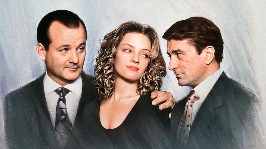 Perro Bravo Y Gloria (1993) - Robert De Niro; Uma Thurman; Bill Murray - Películas Olvidadas Actores Famosos