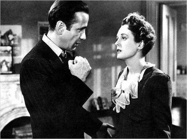 "Humphrey Bogart y Mary Astor ""El Halcón Maltés"" (1941), de John Huston. film Noir"
