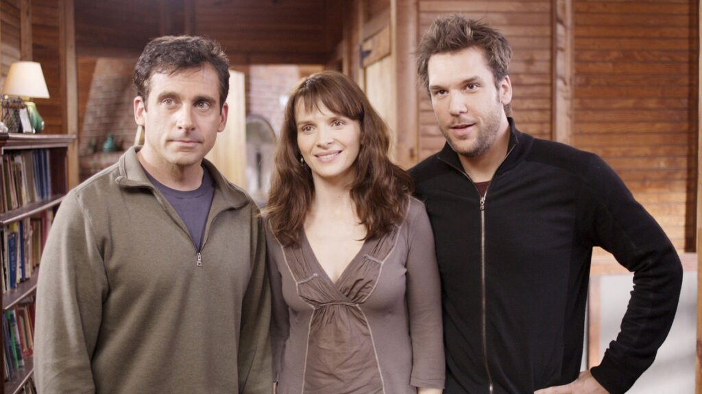 Steve Carell; Juliette Binoche; Dane Cook