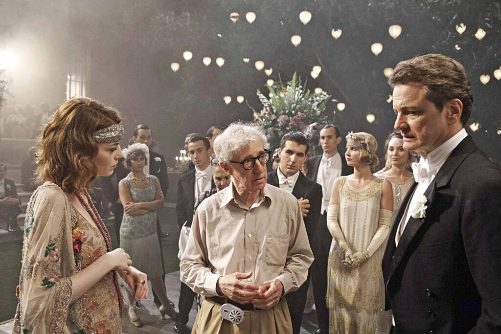 Woody Allen. Emma Stone, Colin Firth